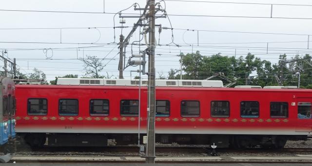 伊豆高原留置中のリゾート21キンメ電車